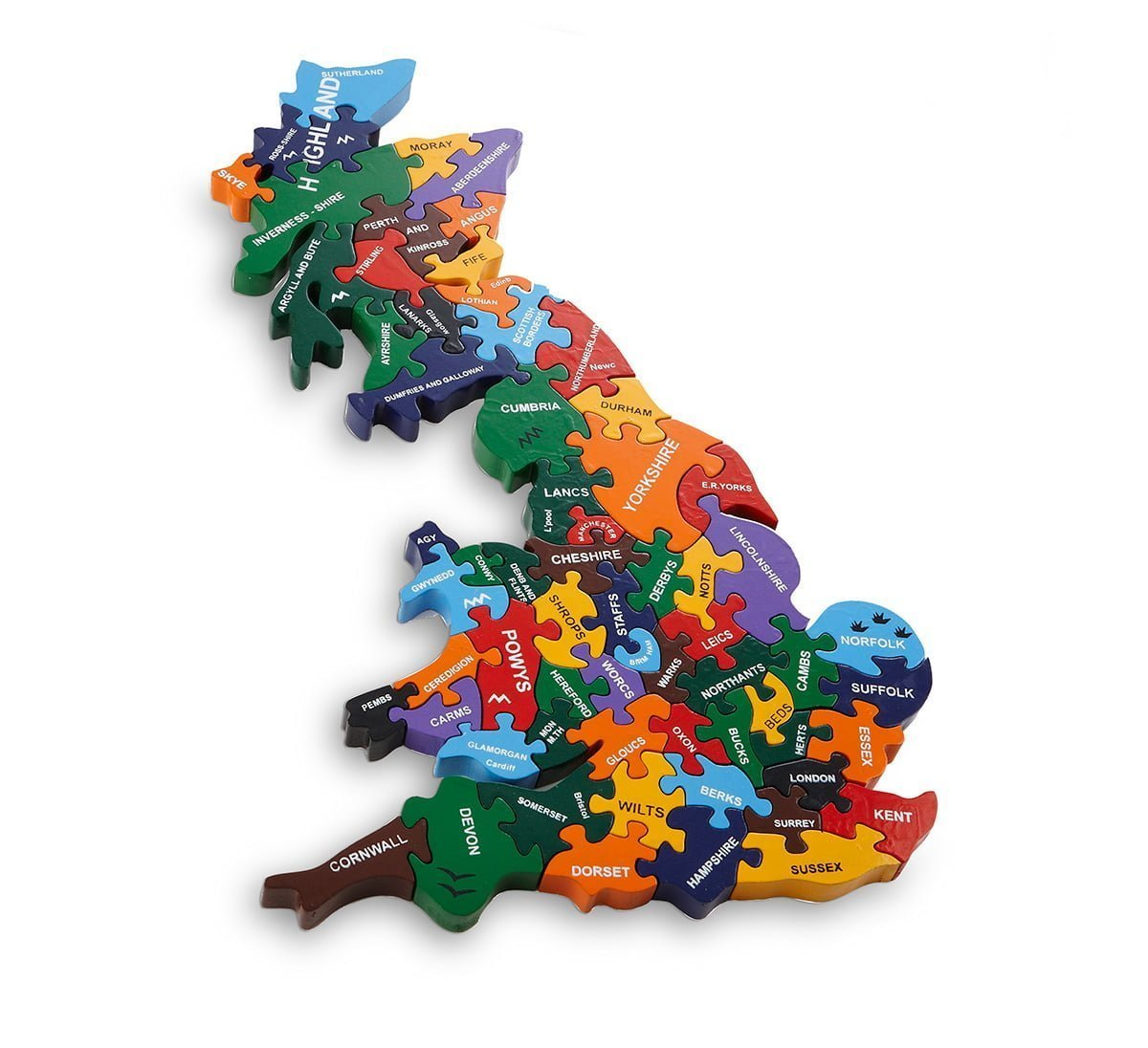 Map Of Britain Wood Like To Playwood Like To Play