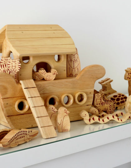 Noah's Ark Boat Natural 3